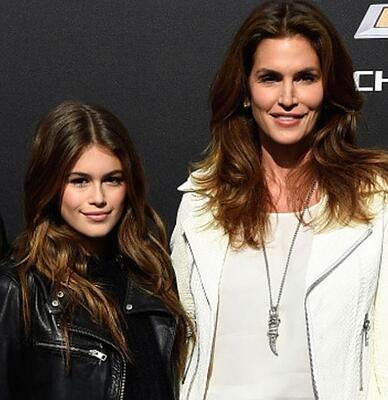 Cindy Crawford&Kaia