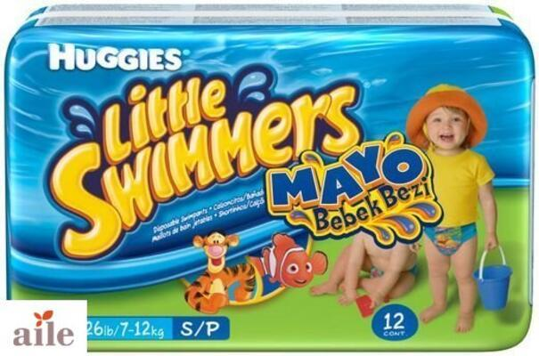 Huggies Little Swimmers Kullan-At Mayo Bebek Bezi