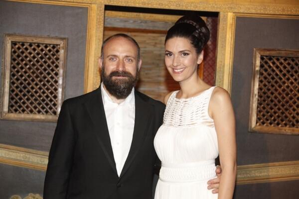 Bergüzar Korel ve Halit Ergenç